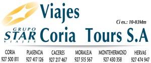 coria tours