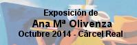 Exposici�n de Ana Mar�a Olivenza - C�rcel Real Octubre de 2014