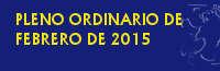VIDEO DEL PLENO ORDINARIO DE FEBRERO DE 2015 :: AYUNTAMIENTO DE CORIA