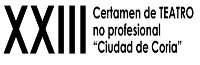XXIII Certamen de Teatro no Profesional Ciudad de Coria