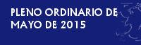 PLENO ORDINARIO DE MAYO DE 2015