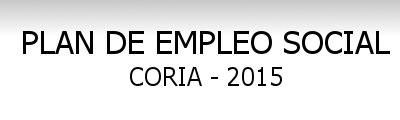 PLAN DE EMPLEO SOCIAL