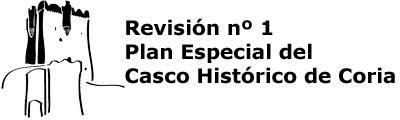 REVISIÓN nº1 DEL PLAN ESPECIAL DEL CASCO HISTÓRICO DE CORIA