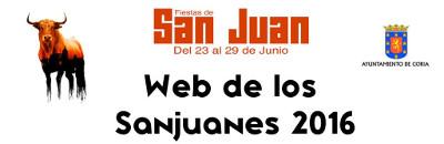 Web de los Sanjuanes 2016