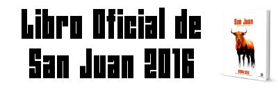 Libro Oficial de las Fiestas de San Juan 2016