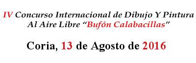 IV CERTAMEN INTERNACIONAL DE DIBUJO Y PINTURA AL AIRE LIBRE �BUF�N CALABACILLAS�