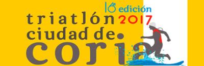 """Triatlón """"Ciudad de Coria"""" se celebrará el 16 de julio de 2017"""