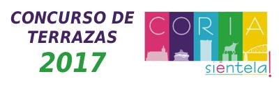 Concurso de Terrazas 2017 - Coria Siéntela.