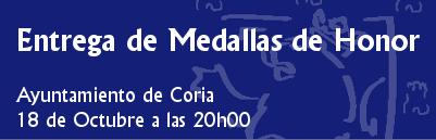Acto entrega Medallas de la Ciudad