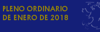 Pleno Ordinario de Enero de 2018