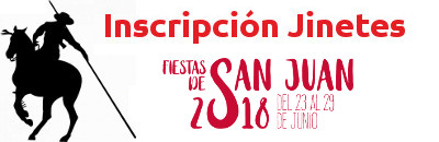 Inscripción Jinetes - Fiestas de San Juan 2018