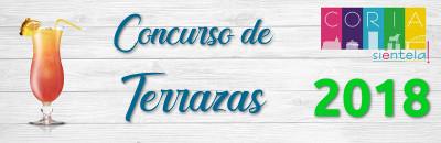 Concurso de Terrazas 2018 - Coria Siéntela