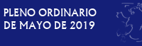 Pleno Ordinario de Mayo de 2019