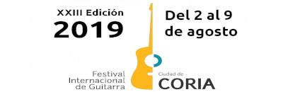 Festival Internacional de Guitarra de Coria 2019