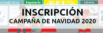 INSCRIPCIÓN - CAMPAÑA DE NAVIDAD 2020