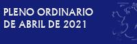 Pleno Ordinario de Abril de 2019