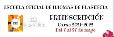 Admisión Escuela Oficial de Idiomas 2021_22