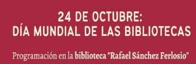 Día Mundial de las Bibliotecas en Coria